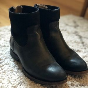 Frye ankle booties
